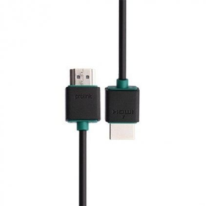 HDMI кабель Prolink PB368-0150 (HDMI High speed (2.0) with Ethernet, (AM-AM), 1,5м., тонкий)