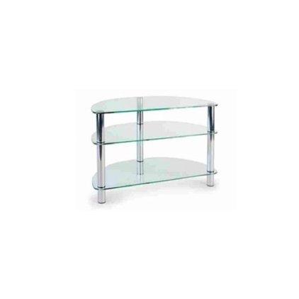 Подставка MD Flatform TV 11 (хром/прозрачное стекло)