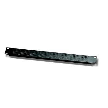 EuroMet EU/R-AV1  00618 Рэковая вентиляционная панель, 1U, алюминий черного цвета