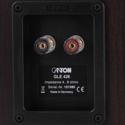 Полочная акустика Canton GLE 426 walnut/black