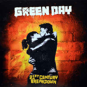 Виниловая пластинка Green Day 21ST CENTURY BREAKDOWN (180 Gram/Gatefold)