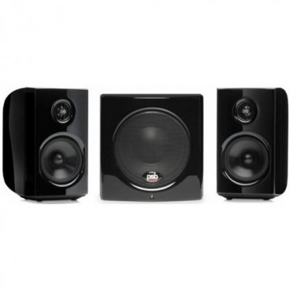 Комплект акустики PSB Alpha 1-100 gloss black