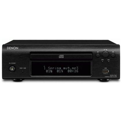 CD проигрыватель Denon DCD-F109 black