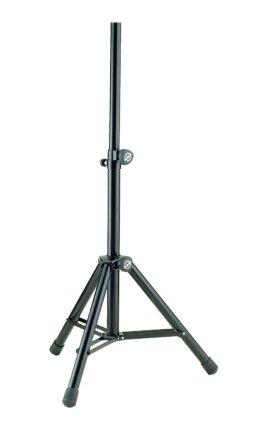 Стойка K&M K&M 21455-009-55 стойка для акустической системы, диаметр 35мм, высота от 1005 до 1545 мм, алюминий, черная