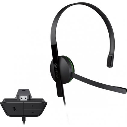 Проводная гарнитура Microsoft Chat Headset (для Xbox One)