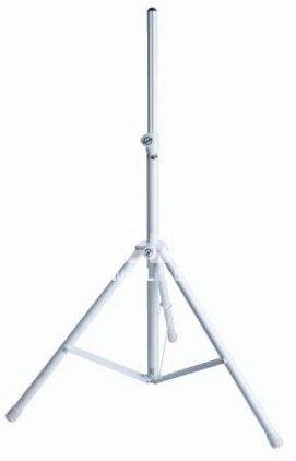 Стойка K&M K&M 21460-009-57 стойка для акустической системы, диаметр 35мм, высота от 1375 до 2185 мм, алюминий, серебристая