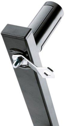 Крепление K&M K&M 24110-000-55 настенное крепление для акустических систем. Возможность регулировки угла на 20º, нагрузка до 50 кг