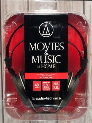 Наушники Audio Technica ATH-AVC200