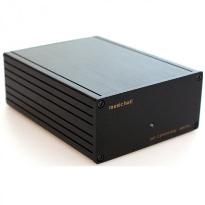 Фонокорректор Music Hall pa 1.2 phono amp black (MM/MC)