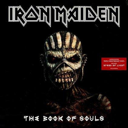 Виниловая пластинка Iron Maiden THE BOOK OF SOULS (180 Gram)