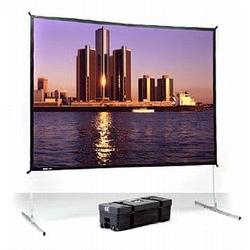 """Экран Da-Lite Fast-Fold Deluxe (3:4) 305/120"""" 183x244 Da-Mat"""