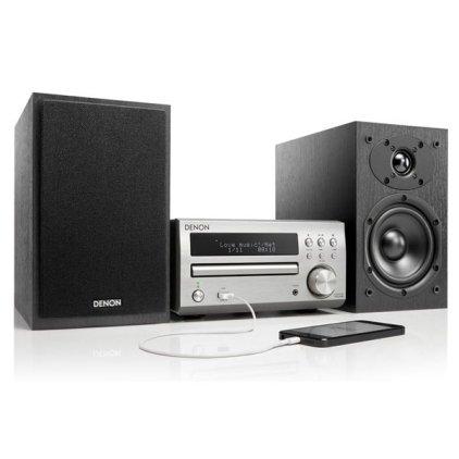 Музыкальный центр Denon D-M40 Silver/Black (RCD-M40-S + SC-M40-B)