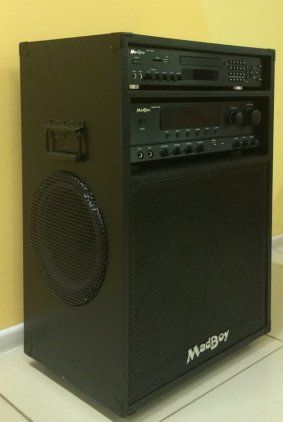 Караоке-центр MadBoy Maniac + DVD-диск 500 любимых песен