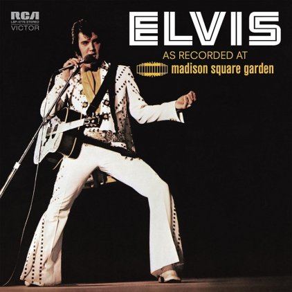 Виниловая пластинка Elvis Presley ELVIS AS RECORDED AT MADISON SQUARE GARDEN (180 Gram/Remastered)
