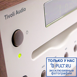 Музыкальный центр Tivoli Audio Model CD cherry/metallic taupe (MCDTPEB)