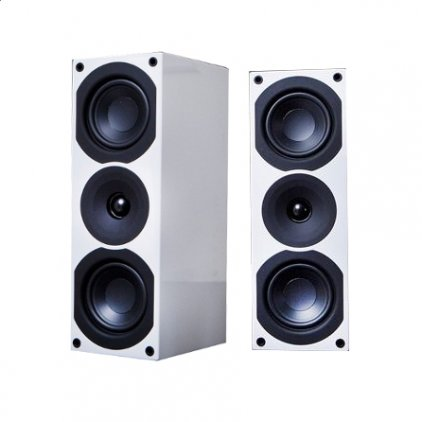Полочная акустика System Audio SA Saxo 10 High Gloss White
