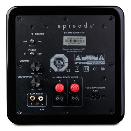 Episode ES-SUB-EVO6-100 Gloss Black