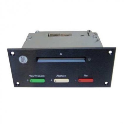 Врезная панель для голосования и регистрации DIS DV 6501 F (для серии DCS6000)