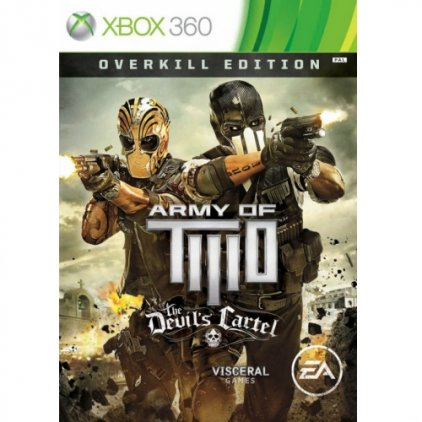 Игра для Xbox360 Army of Two: The Devil's Cartel. Overkill Edition (английская версия)