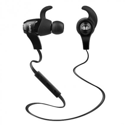 Наушники Monster iSport Bluetooth Wireless In-Ear Headphones Black (128660-00)