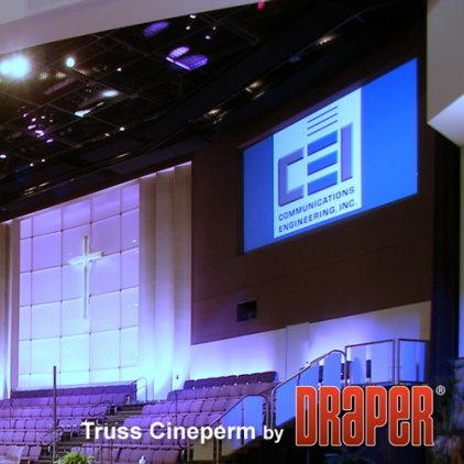 "Экран Draper Cineperm HDTV (9:16) 269/106"" 132*234 M1300 (XT1000V)250023"