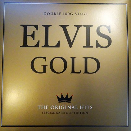 Виниловая пластинка Elvis Presley ELVIS GOLD THE ORIGINAL HITS (180 Gram/Remastered/Gatefold)