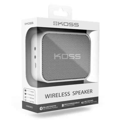 Портативная акустика Koss BTS1 white