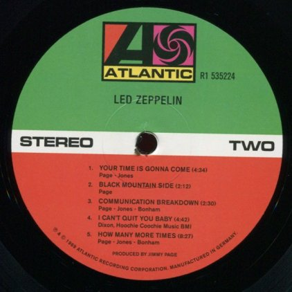 Виниловая пластинка Led Zeppelin LED ZEPPELIN (Deluxe Edition/Remastered/180 Gram)