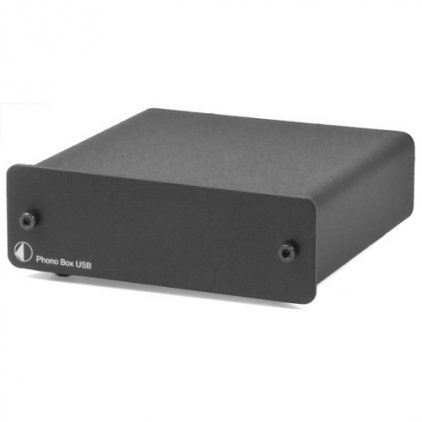 Фонокорректор Pro-Ject Phono Box USB (DC) black