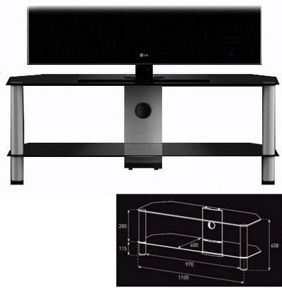 Подставка под телевизор Sonorous NEO 2110 B BLK