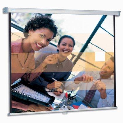 "Экран Projecta SlimScreen 180x180 cm (96"") Matte White настенный рулонный (10200063)"