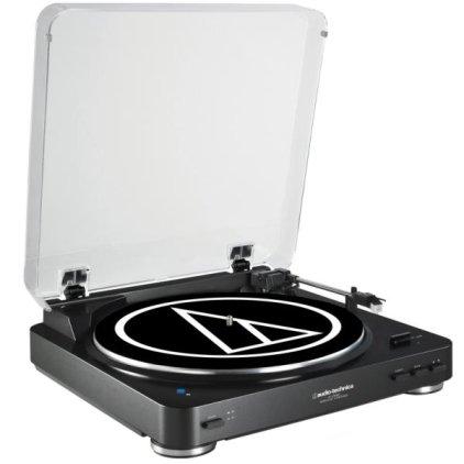 Проигрыватель винила Audio Technica AT-LP60BT Black