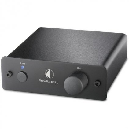 Фонокорректор Pro-Ject Phono Box USB V Black