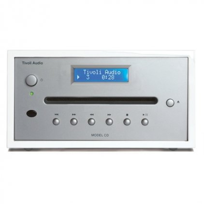 CD-проигрыватель Tivoli Audio Model CD piano white/silver (MCDWSB)