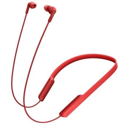 Наушники Sony MDR-XB70BT red
