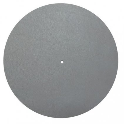 Мат для диска проигрывателя Pro-Ject Leather it gray