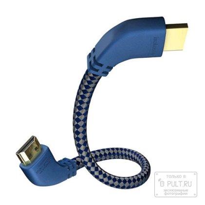HDMI кабель In-Akustik Premium HDMI 90° 5.0m #0042505