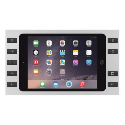 Рамка iPort SURFACE MOUNT BEZEL SILVER WITH 10 BUTTONS (For iPad Mini 4)