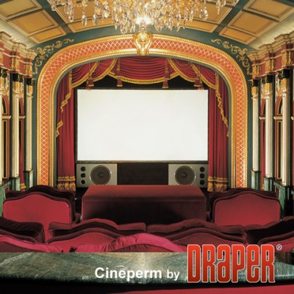 "Экран Draper Cineperm HDTV (9:16) 269/106"" 132*234 HDG (XH600V) 250093"