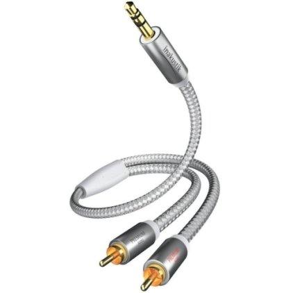 Кабель межблочный In-Akustik Premium MP3 3.5mm <> 2RCA 1.5m #004100015