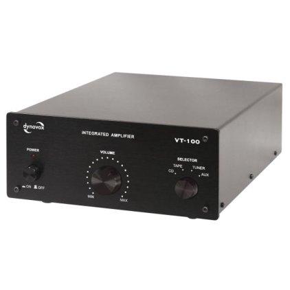 Стереоусилитель Dynavox VT-100 black