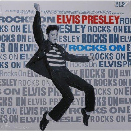 Виниловая пластинка Elvis Presley ROCKS ON (180 Gram)