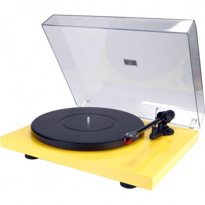 Проигрыватель винила Pro-Ject Debut Carbon Phono USB (DC) yellow (Ortofon OM10)