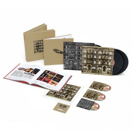 Виниловая пластинка Led Zeppelin PHYSICAL GRAFFITI (Super Deluxe Edition Box set/Remastered/3CD+3LP/180 Gram/Hardbound 96-page book)