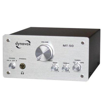 Стереоусилитель Dynavox MT-50 MK silver
