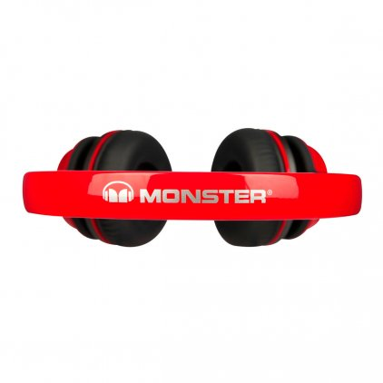 Наушники Monster NTune On-Ear Solid Red