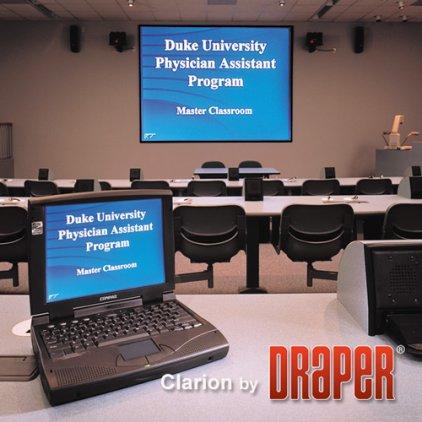 "Экран Draper Clarion NTSC (3:4) 335/132"" 201*267 XT1000V MW"