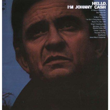Виниловая пластинка Johnny Cash HELLO, I'M JOHNNY CASH (180 Gram)