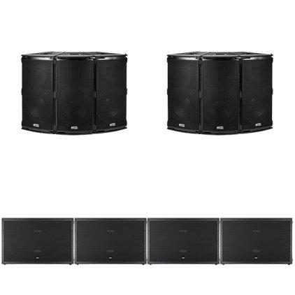 Комплект звукового оборудования RCF TT+ series №6
