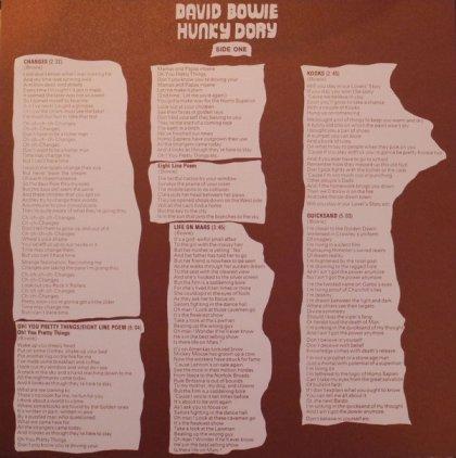 Виниловая пластинка David Bowie HUNKY DORY (180 Gram)